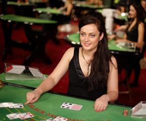 many blackjack sites offer live versions of the game