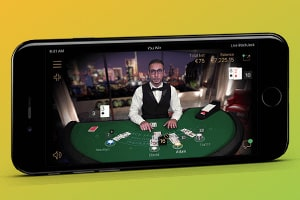 Live Blackjack for Mobile Devices